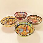 500+ SOLD! Handmade Painted Turkish Moroccan Colourful Ceramic Bowls Plates