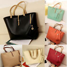 Women PU Leather Tote Shoulder Bags Hobo Handbags Satchel Messenger bag Purse YK