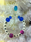 Happy New Year-Xmas Tree-Decorations-Handmade-Glass Beads-any Colour Scheme-Lux
