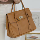 CELEBRITY ST CLASSIC BAYSWATER TOTE SHOULDER BAG PURSE REAL TOGO COWHIDE LEATHER
