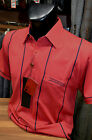 Gabicci Classic Jersey Polo Shirt (Sizes: Medium) In 'Cherry' Red 35X04