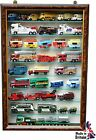 "Wall Mounted Display Cabinet TM9 3"" Hand Made in the UK"