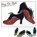 New Women Suede Ballroom Modern Dance Shoes 275