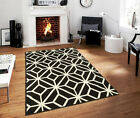 Kyпить Large Rugs 8x11 Contemporary Diamond Trellis Moroccan Geometric Black Area Rug 2 на еВаy.соm