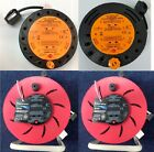 4 WAY CABLE EXTENSION REEL WITH THERMAL CUT OFF LEAD MAIN SOCKET 5M 10M 25M 50M