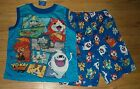 Nintendo Yo-Kai Watch 2-pc Pajama Set Size 8 or 10/12 NWT