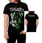 The Casualties T-Shirt Skull Cross Logo punk rock Official XL Last NWT