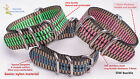 peacock 3color nylon OW  Five rings military watch band watch strap