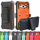 2016 Outer Box Hybrid Belt Clip Holster Stand Case Cover for Samsung Galaxy J3