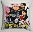 "15"" Despicable Me Minions Printed Throw Pillow"