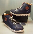 PF Flyers Men's Brewster Hi High Top Navy Blue Leather Shoes SIZES! NIB