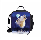 Fashion Animal Pug Husky Lunch Bag Kids' Insulated School Lunch Box Container