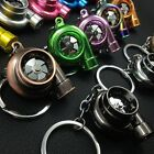 Unique Creative LED TURBO Keychain Key Chain Ring Keyring Keyfob Great Gift