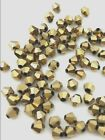 BICONES!CLEARANCE!4mm GLASS BEADS! CRYSTAL/OPAQUE/AB /ALABASTER/GOLD! 9 CHOICES!