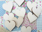Wooden Hearts Plywood Heart Shapes Heart Embellishments Love Hearts 30mm