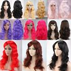 cheap full hd monitor - Cheap Women Girl's Cosplay Rave Party Synthetic Hair Long Wavy Curly Full Wigs