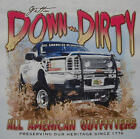 ALL AMERICAN OUTFITTERS GETTIN DOWN & DIRTY 4X4 TRUCK SHIRT #330