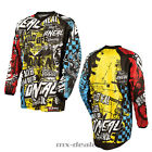 O'Neal Element Kinder Jersey WILD Multi Kids Trikot MX DH MTB BMX Motocross