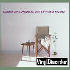 Choose an author as you choose a friend Wall Quote Mural Decal-libraryquotes05