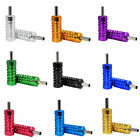 Tattoo Machine Grip Tube 22*50mm Aluminum Alloy with Back stem 7 Colors 50