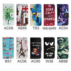 For Multi Phone Wallet PU Leather Stand Flip Magnet Card Slot Case Cover +  Gift