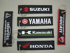 Embroidered Logo Motorcycle Keychain Motorcycle Key Fob Carabiner Keyring $10.5 CAD on eBay