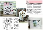Sweet 'n Sassy Clear Stamp Set BE ENCOURAGED, FAITH Inspirational Sentiments