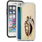 For iPhone SE 5 5s 5c 6 6s Plus Shockproof Hard Case Cover 1569 Sea Turtle Beach