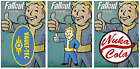 Official Fallout 4 Keyring Vault Boy Tec Gaming Novelty Gift Rubber Keychain