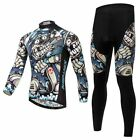 XINTOWN Men Outdoor Clothing Cycling Wear Long-sleeves And (Bib) Pant Suit