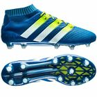adidas ACE 16.1 Primeknit FG/AG Shock Blue Football Boots Sizes(UK 8 - 12)AQ5152