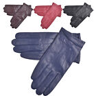 Lambland Womens / Ladies High Quality Leather Gloves with Three Point Stitch