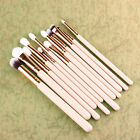 12x Pro Makeup Brushes Set Foundation Powder Eyeshadow Eyeliner Lip Brush Tools.