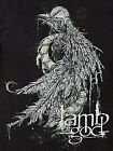 Lamb Of God Bird Logo groove metal hard rock T-Shirt Official XL 2XL NWT