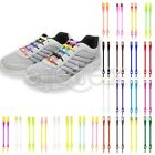 6/8pcs Men Women Elastic Silicone Shoelaces Athletic No Tie Novelty Shoestrings