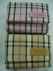 Ladies Purse Wallet Compact Size Check
