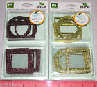 Внешний вид - making memories Metal Slice Glitter Rim Tags or use for Frames and Borders New