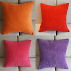 1 Pcs Solid Candy Colors Corn Kernels Micro Suede Cushion Covers Pillow Cases