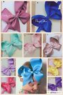 "SALE Baby Girls Kids 6"" Bow Headband Hair Ribbon Large Boutique Cheap 40 Colours"