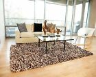 Anji Mountain Confetti Modern Paper Shag Rug NEW choose from 3x5, 4x6, 5x8, 8x10