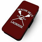 Beacon Hills Lacrosse | Printed Faux Leather Flip Phone Cover Case | Wolf Teen