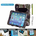 Aceguarder Shockproof Heavy Duty Rubber W/ Hard Stand Case Cover For iPad 2 3 4