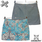 OXBOW 'RAHMA' WOMENS REVERSIBLE MINI SKIRT FLORAL GREY SURF UK 8 12 RRP £38