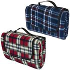 picnic rug waterproof backing - Tartan Picnic Blanket Waterproof Backing Large Folding Camping Mat Travel Rug