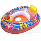 Babies Swimming Seat Float Car Ring Wheel & Horn 1-2 Years