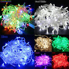Внешний вид - 65.6FT 20M 200LED Bulbs Christmas Fairy Party String Lights Waterproof - US Plug