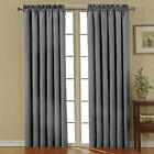 "Eclipse Canova Polyester and Thermaback 0.25"" Blackout Window Curtain with"
