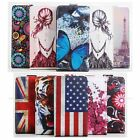 "Painted Printing Flip Case Leather Cover Skin For 5.5"" Huawei Honor 5A Cellphone"