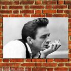 JOHNNY CASH MAN IN BLACK POSTER ART WALL PRINT PICTURE LARGE A4 A3 A2