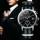 James Bond 007 Mens Military Watches Sport Chronograph Wrist Watch Nylon Band $14.99 USD